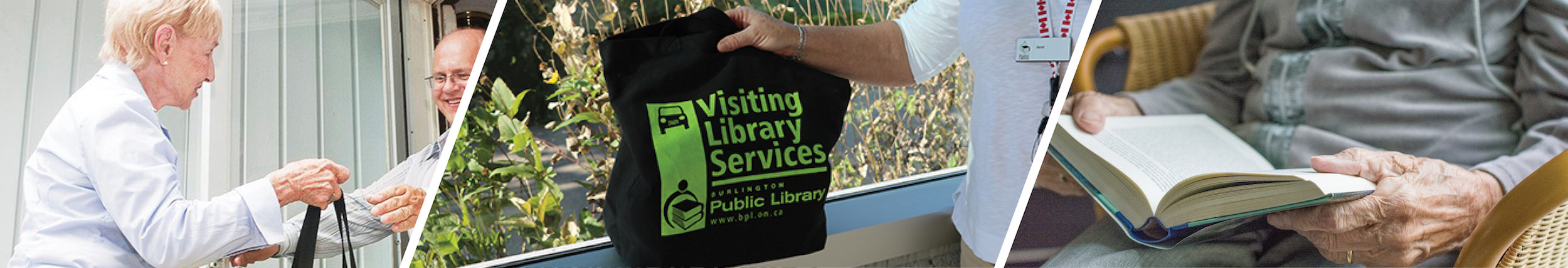 Currently suspended due to COVID, VSL provides library services outside of our branches.